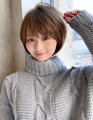 ひし形シルエット 小顔カット(NB-136)