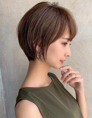 襟足スッキリひし形ショートボブ 新宿(NB-139)