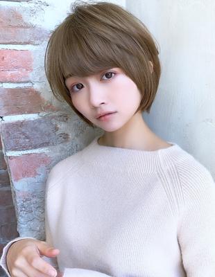 大人かわいい 小顔 ショートヘア 30代40代(NB-141)