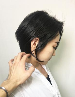 暗髪ハンサムショート(OM-94)
