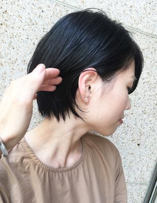 ママさん世代に人気 楽してキマるショートヘア(OM-96)