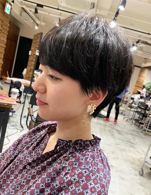 波瑠さん風ショートヘア(OM-205)