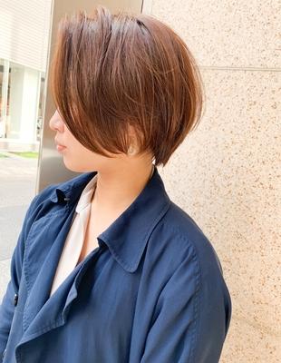 前髪長め前下がりショート(OM-212)
