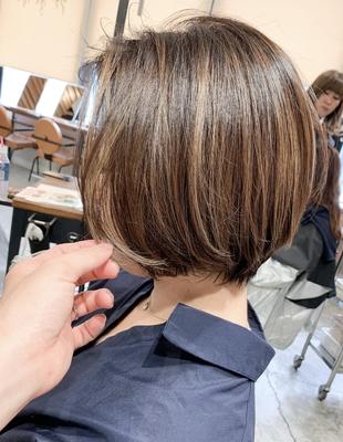 前髪長めのショート(OM-233)