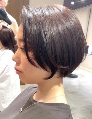 前髪長めのショート(OM-304)