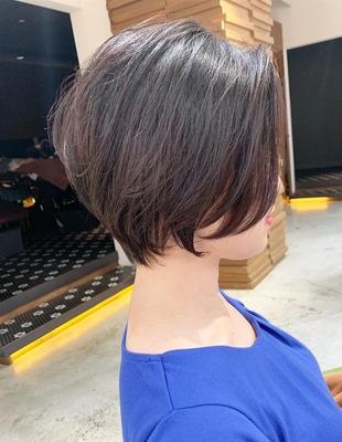 前髪長めのくびれショート(OM-318)