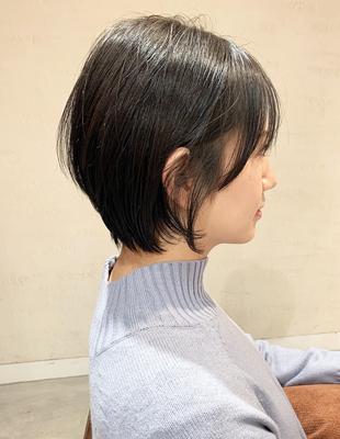 スタイリングしない方でも扱える ショートヘア(OM-391)