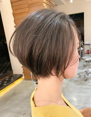 前髪長めのショート(OM-394)