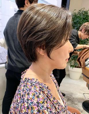 吉瀬美智子さん風ショート(OM-417)