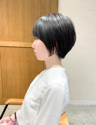 黒髪大人ショート(OM-432)