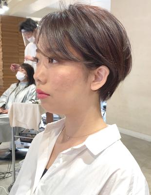 森星さん風マッシュショート(OM-434)