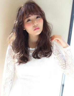 オン眉斜めバングセミディ(MY-09)