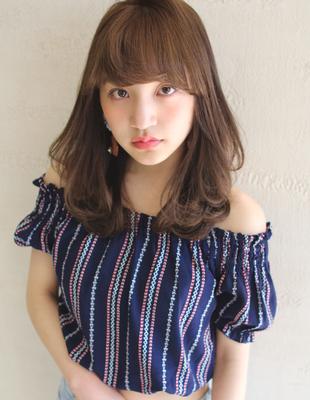 大人可愛いナチュラルセミディ(MY-21)