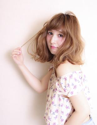 シフォンベージュくびれミディ(MY-23)