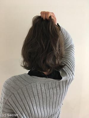 黒髪 ミディアム