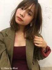 韓国風♡シースルーミディワンカール