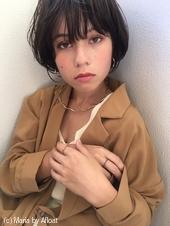 「鎌倉スタイル7」小顔フェミニンショートボブ