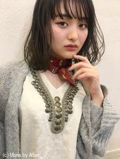 「鎌倉」暗髪フォギーアッシュエアリーボブ13