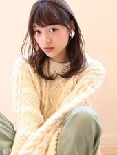 「鎌倉スタイル」鎖骨ワンカールミディアム36
