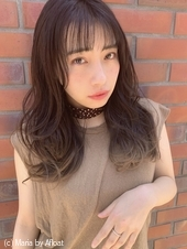 【山田】ショートバングヘルシーレイヤーグラデーションy26