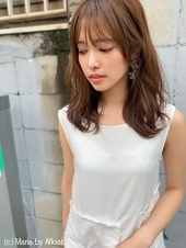 【山田】シースルーバングヘルシーレイヤーセミディy50