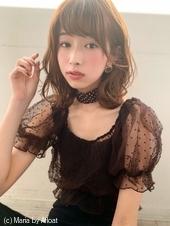 【山田】小顔無造作フェミニンウェーブy68