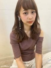 【山田】小顔フェミニン無造作ラフウェーブy71
