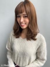 【山田】ヘルシーレイヤーくびれ外ハネミディy94