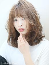 【重山祐亮】ナチュラルミックスカールセミディ♪S84