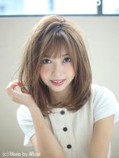 【重山】小顔ひし形セミディ♪S98