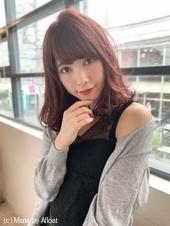 【重山】小顔ひし形セミディ♪S120