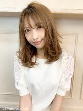 【重山】外ハネレイヤーミックスミディ♪S121
