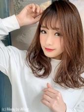 【重山】カジュアルウエーブセミディ♪S163