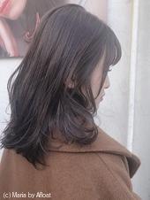 お客さまヘアスタイル☆ベリーグレージュカラー♡