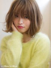 【添田】大人ボブ3Dカラー ジグザグバングなミニマムボブs-31