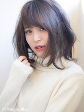 【添田】暗髪イルミナカラーヘルシーレイヤーデジタルパーマs-33