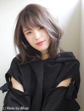 【添田】イルミナカラーヘルシーレイヤーミディデジタルパーマs-35