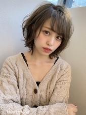 【添田】ヘルシーレイヤー大人かわいいひし形ミニマムボブs-39