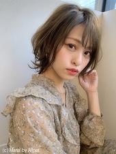 【添田】大人かわいいショートボブひし形ヘルシーレイヤーs-40
