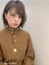 【添田】大人かわいいヘルシーレイヤーボブひし形イルミナカラーs-41