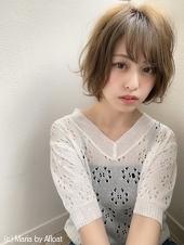 【添田】大人かわいい丸みショートヘルシーレイヤーひし形s-58
