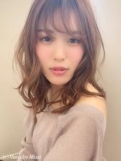 【添田】大人かわいいヘルシーレイヤーミディイルミナカラー73
