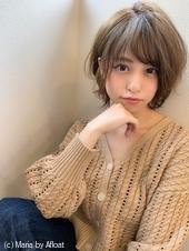 アフロート添田】大人かわいい束感カールエッジショートs-79