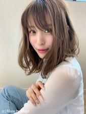 アフロート添田】大人かわいいヘルシーレイヤーくびれセミディs-82