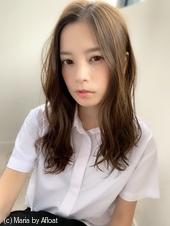 アフロート添田】ハイライトアッシュカラーヘルシーレイヤーs-68