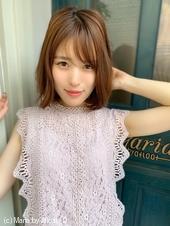 添田】大人かわいい束感ボブディ くびれミディs-91