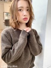 添田】ハイライト 明るめ透明感カラー 顔まわりに小顔カット 136