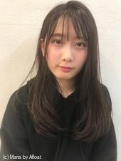 【宮下】モノトーンアッシュグレイ