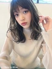 「鎌倉スタイル」大人柔らかナチュラルパーマモテセミディ33