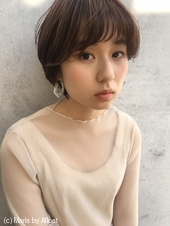 「鎌倉スタイル」マッシュ柔らかショートボブ52